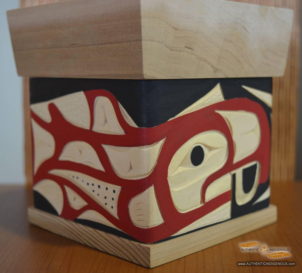 Bentwood Box | Authentic Indigenous Artworks